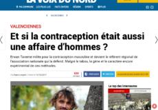 La voix du nord contraception masculine