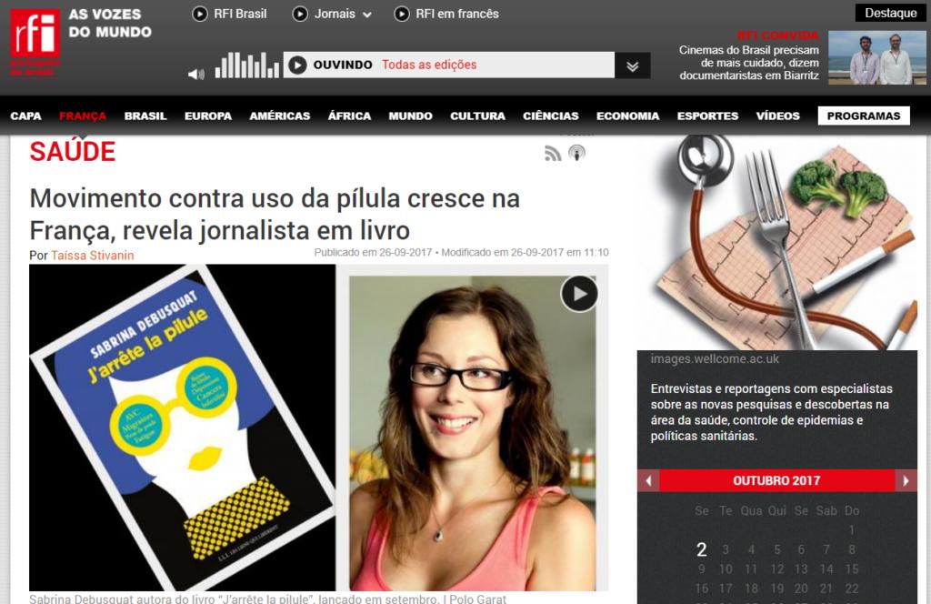 Sabrina Debusquat RFI Brésil