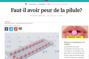 Avoir peur pilule top santé