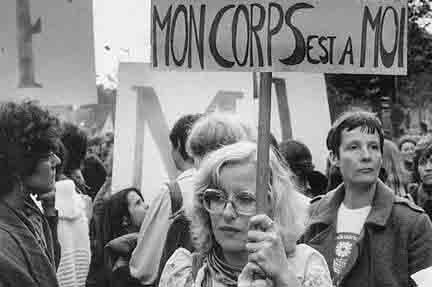 Féministe années 1960 France