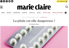 Marie Claire decembre 2017 pilule