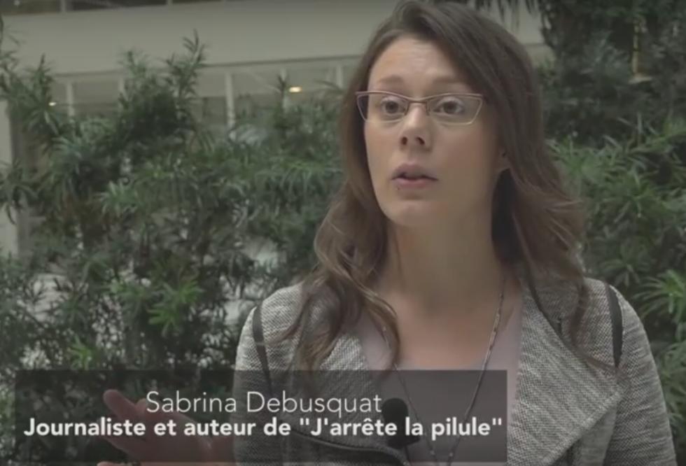Sabrina Debusquat Colloque perturbateurs endocriniens lyon 26 octobre