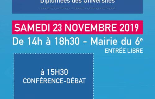 Salon livre femmes auteures essais 2019 AFFDU Paris